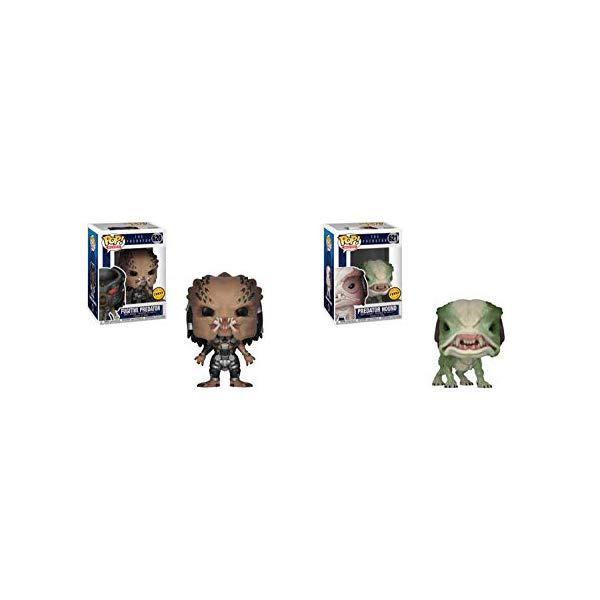 プレデター ファンコ ポップ フィギュア 人形 Funko Pop! Bundle of 2: Predator: Fugitive Predator Chase and Predator Hound Chase Figures