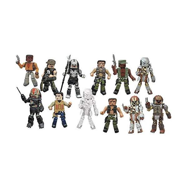 プレデター ミニメイツ フィギュア 人形 6体セット(3パック) Minimates Diamond Select Toys Predator Series 1 & 2 Set of 6 2-packs