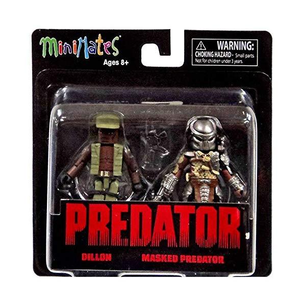 プレデター ミニメイツ フィギュア 人形 Predator Minimates Series 1 Dillon & Masked Predator 2