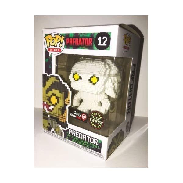 プレデター ファンコ ポップ フィギュア 人形 限定 Funko Pop! 8-Bit #12 Predator Glow in The Dark Predator Chase (Gamestop Exclusive)