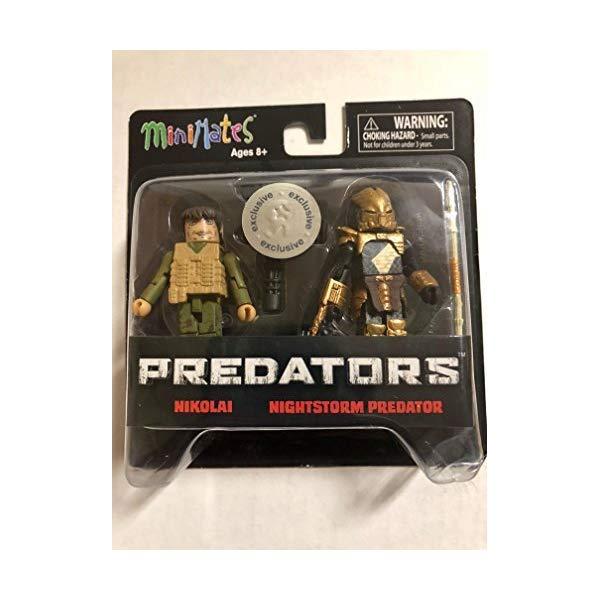 プレデター ミニメイツ フィギュア 人形 MiniMates Predators - Nikolai & Nightstorm Predator