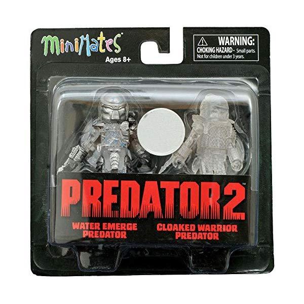 プレデター ウォーリアー ミニメイツ フィギュア 人形 Predator 2 Minimates -- Water Emerge Predator and Cloaked Warrior Predator -- Toys
