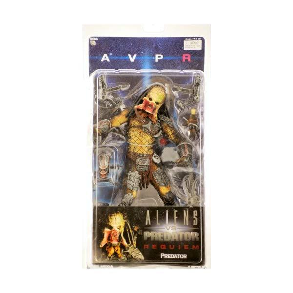 プレデター エイリアン アクション フィギュア 人形 ネカ Alien VS. Predator: Requiem NECA Action Figure Series 3 Unmasked Predator (Op...