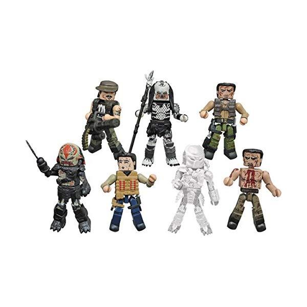 プレデター ミニメイツ フィギュア 人形 セット Diamond Select Toys Predator Minimates Series 2 Complete Set of 4 2-packs