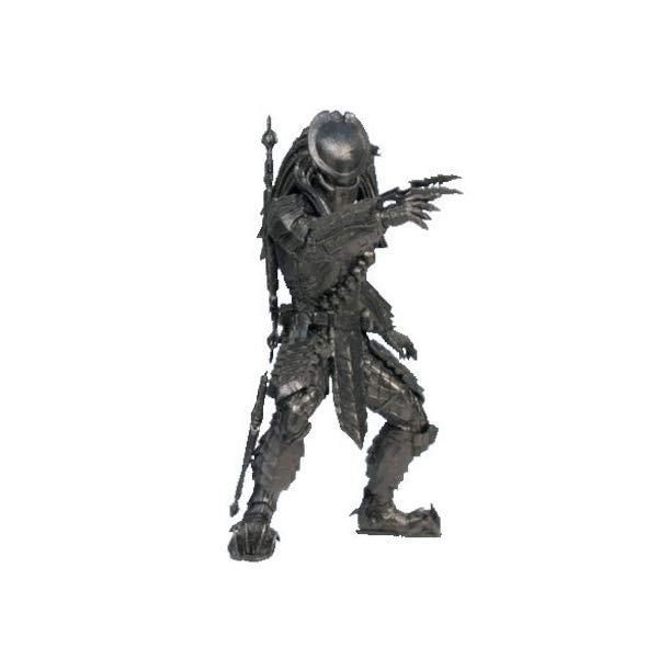 プレデター エイリアン フィギュア 人形 AVP Alien vs. Predator Predator realistic figure Black ver. Separately