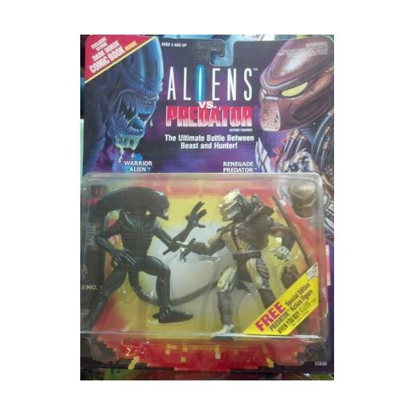 プレデター エイリアン アクション フィギュア 人形 Aliens VS Predator Deluxe Action Figure Set