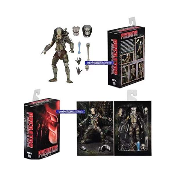 プレデター エイリアン ハンター アクション フィギュア 人形 ネカ Game, Fun, NECA Movie AVP Aliens vs Predator Figure Series Alien Concrete Jungle Hunter Predator PVC Action Figure Model Toy Doll Gift, Toy, Play