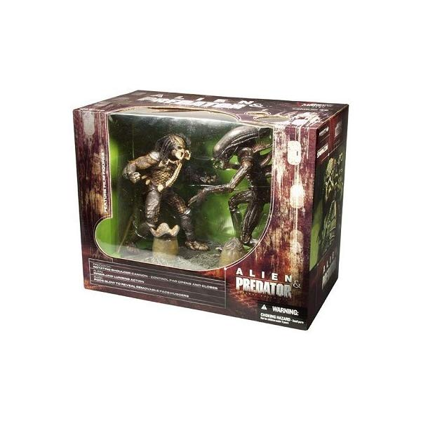 プレデター エイリアン マクファーレン フィギュア 人形 McFarlane Toys Movie Maniacs Series 5 Deluxe Boxed Set Alien & Predator