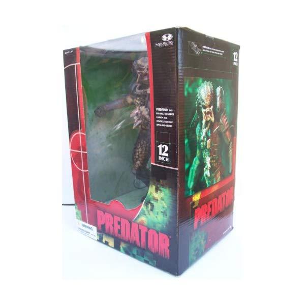 プレデター アクション フィギュア 人形 マクファーレン Predator 2004 McFarlane Toys 12 Inch Action Figure Boxed #4811