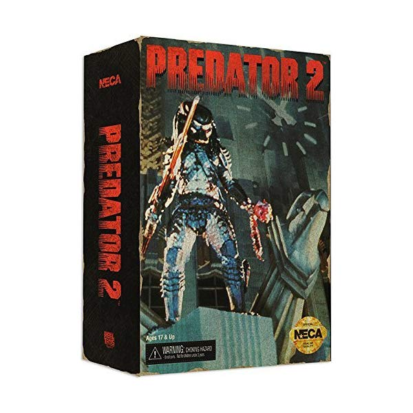 プレデター ハンター フィギュア 人形 Predator 7-Inch Predator 2 City Hunter Video Game Appearance Figure by Predator