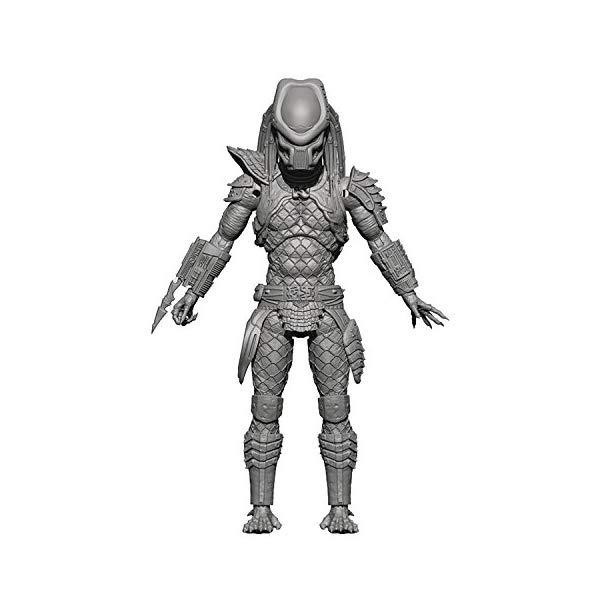プレデター ウォーリアー アクション フィギュア 人形 Hiya Toys 2: Warrior Predator 1:18 Scale Action Figure