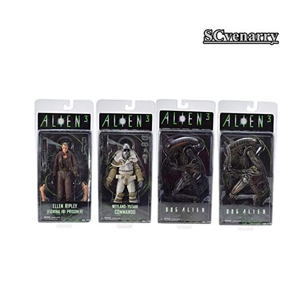 プレデター エイリアン アクション フィギュア 人形 ネカ Game, Fun, NECA Aliens vs Predator Series Covenant Weyland Yutani Commando Ellen Ripley Fiorina 161 Toy Action Figure 20CM, Toy, Play