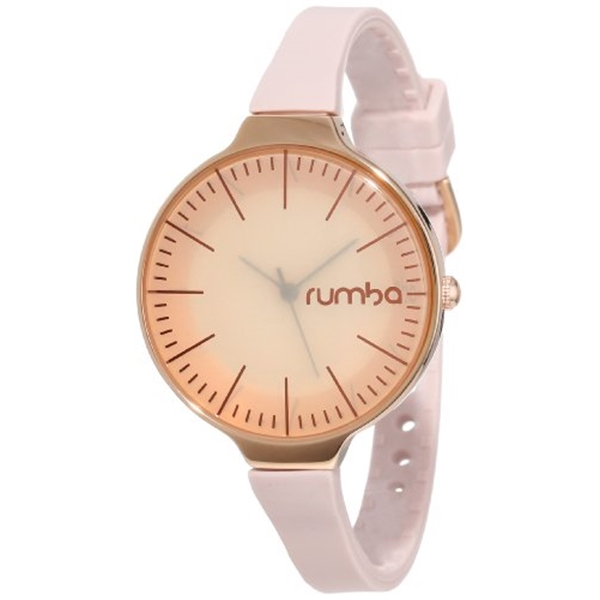 ルンバタイム RumbaTime レディース 腕時計 時計 RumbaTime Women's Orchard Rose Gold-Tone Smoke Analog-Display Japanese-Quartz Watch