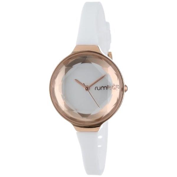 ルンバタイム RumbaTime レディース 腕時計 時計 RumbaTime Women's 15642 Orchard Gem Mini Rose Gold 30mm Crystal White Watch