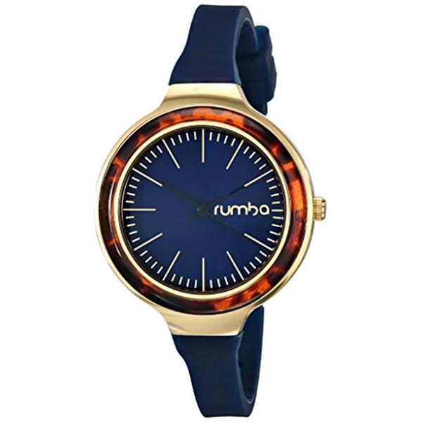 ルンバタイム RumbaTime レディース Blue 腕時計 時計 RumbaTime レディース Orchard Watch Tortoise Midnight Blue Analog Display Japanese Quartz Blue Watch, ミスギムラ:6fb5d773 --- ww.thecollagist.com