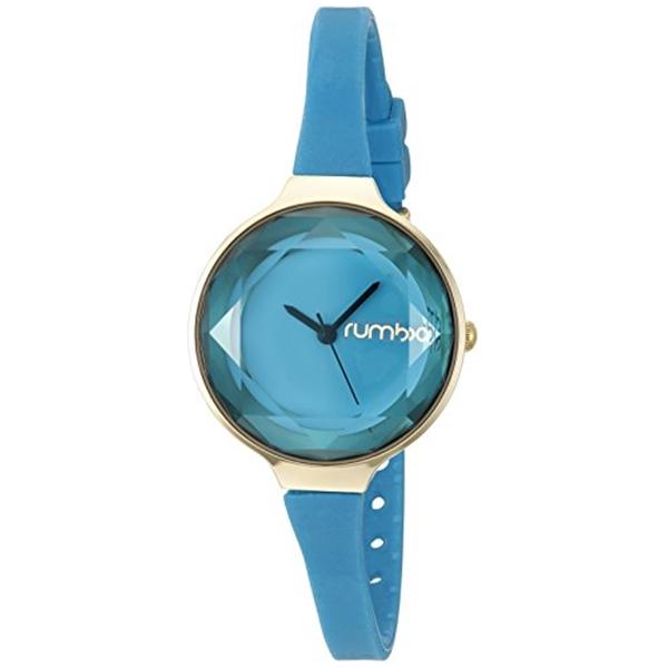 ルンバタイム RumbaTime レディース 腕時計 時計 RumbaTime Women's 22735 Orchard Gem Mini Gold 30mm Teal Watch