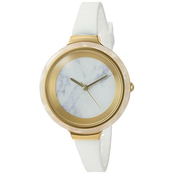 ルンバタイム RumbaTime レディース 腕時計 時計 RumbaTime Women's 'Orchard Marble Snow Patrol' Quartz Metal and Silicone Watch, Color:White (Model: 25583)