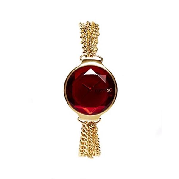 ルンバタイム RumbaTime レディース 腕時計 時計 Orchard Gem Chain Ruby