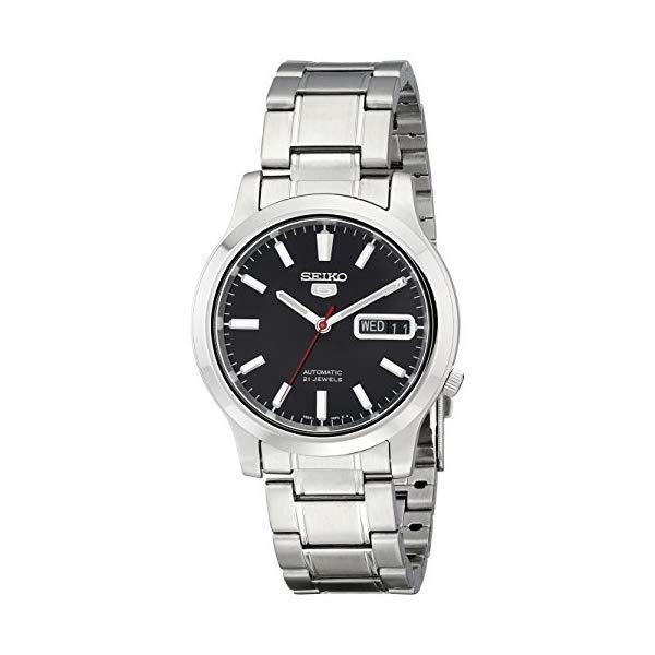 セイコー SEIKO 腕時計 ウォッチ メンズ 男性用 SNK795 Seiko Men's SNK795 Seiko 5 Automatic Stainless Steel Watch with Black Dial