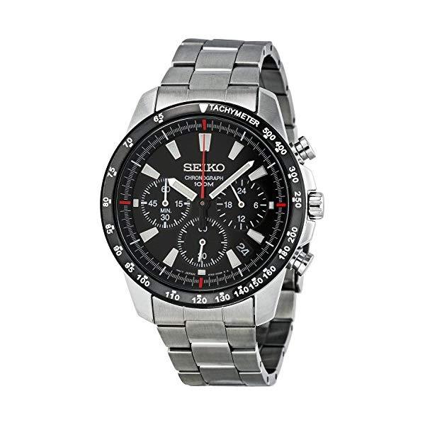 セイコー SEIKO 腕時計 ウォッチ メンズ 男性用 SSB031 Seiko SSB031 Men's Chronograph Stainless Steel Case Watch