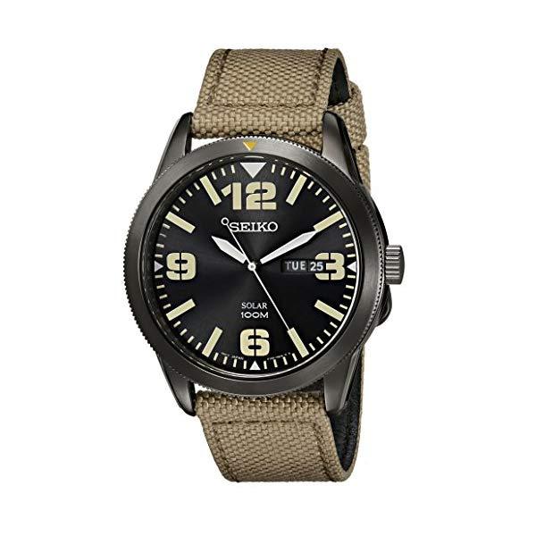 セイコー SEIKO 腕時計 ウォッチ SEIKO Solar Nylon Strap Watch
