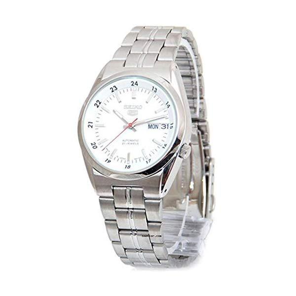 セイコー SEIKO 腕時計 ウォッチ メンズ 男性用 SNK559J1 Seiko Series 5 Automatic Date-Day White Dial Men's Watch SNK559J1