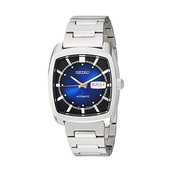 セイコー SEIKO 腕時計 ウォッチ メンズ 男性用 SNKP23 Seiko Men's RECRAFT Series Automatic-self-Wind Watch with Stainless-Steel Strap, Silver, 21 (Model: SNKP23)