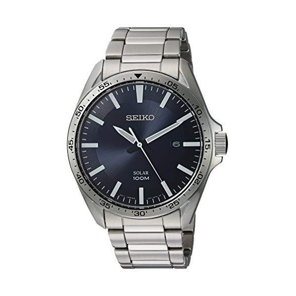 セイコー SEIKO 腕時計 ウォッチ メンズ 男性用 SNE483 Seiko Men's Sport Watches Japanese-Quartz Stainless-Steel Strap, Silver, 20 (Model: SNE483)