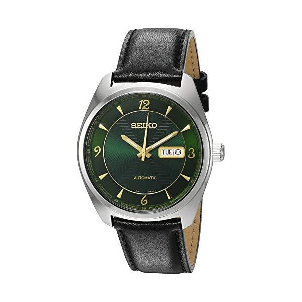セイコー SEIKO 腕時計 ウォッチ メンズ 男性用 SNKN69 Seiko Men's 'Recraft Series' Japanese Automatic Stainless Steel and Black Leather Dress Watch (Model: SNKN69)
