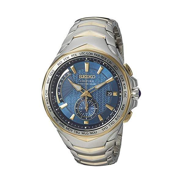 """セイコー SEIKO 腕時計 ウォッチ メンズ 男性用 SSG020 Seiko Men""""s SSG020 COUTURA Analog Display Japanese Quartz Two Tone Watch"""