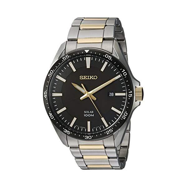 セイコー SEIKO 腕時計 ウォッチ メンズ 男性用 SNE485 Seiko Men's Sport Watches Japanese-Quartz Stainless-Steel Strap, Silver, 19 (Model: SNE485)