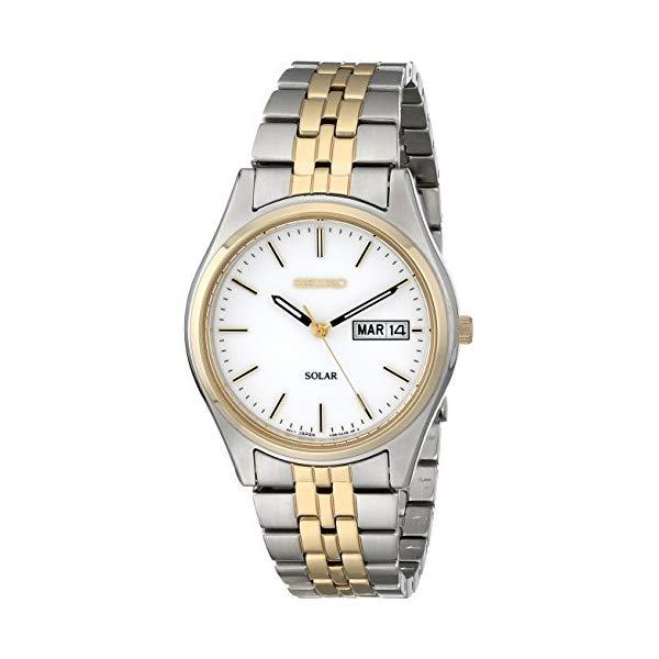 セイコー 腕時計 SEIKO SEIKO Solar 2-Tone Watch