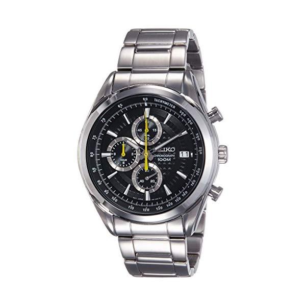 セイコー 腕時計 SEIKO SSB175P1 メンズ ウォッチ 男性用 SEIKO SSB175P1,Men's Chronograph,Stainless Steel Case & Bracelet,Black Dial,100m WR,SSB175