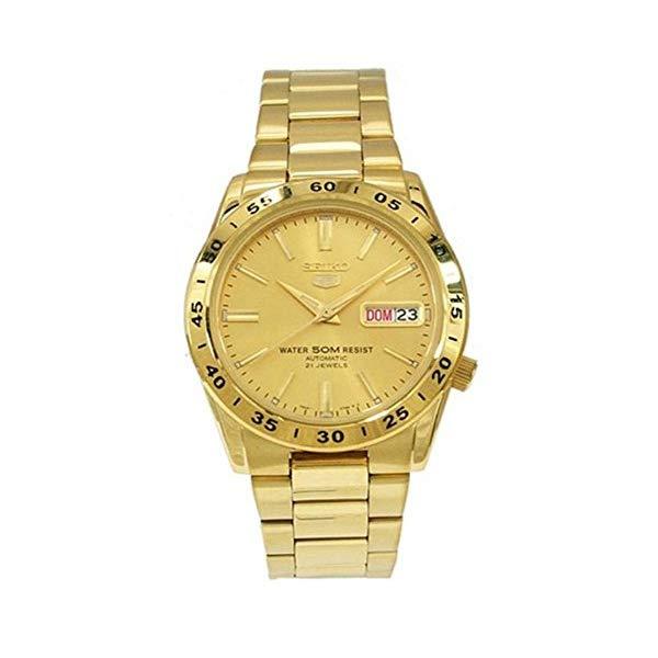 セイコー 腕時計 SEIKO SNKE06 メンズ ウォッチ 男性用 SEIKO Men's SNKE06 Stainless Steel Analog with Gold Dial Watch