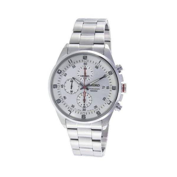 セイコー 腕時計 SEIKO SNDC87 メンズ ウォッチ 男性用 SEIKO Mens SNDC87P1 Silver Dial Chronograph Stainless Steel Watch