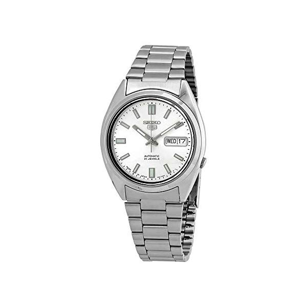 セイコー 腕時計 SEIKO SNXS73J1 SEIKO 5 Gents Automatic watch, stainless Steel, Silver Dial - SNXS73J1 (Made in Japan) by SEIKO Watches