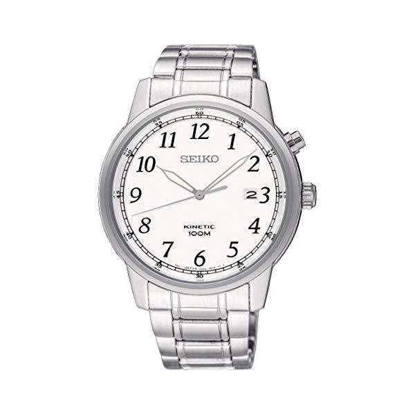 セイコー 腕時計 SEIKO SKA775P1 メンズ ウォッチ 男性用 SEIKO Men's Analogue Kinetic Watch with Stainless Steel Strap SKA775P1