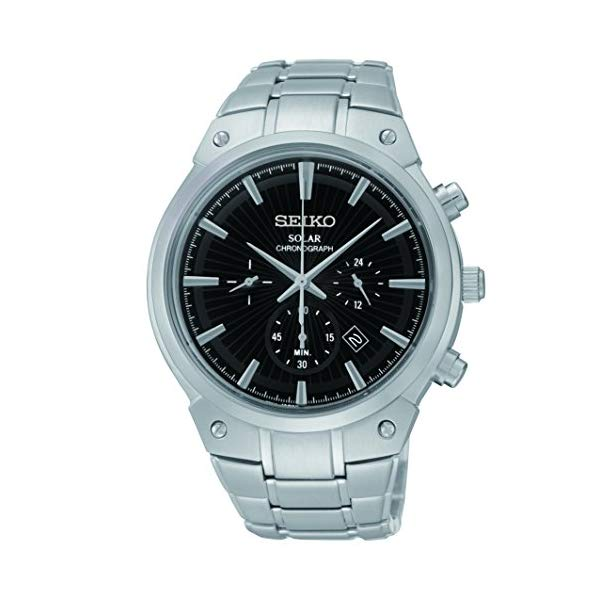 セイコー 腕時計 SEIKO SSC317 メンズ ウォッチ 男性用 SEIKO Men's SSC317 Analog Display Analog Quartz Silver Watch