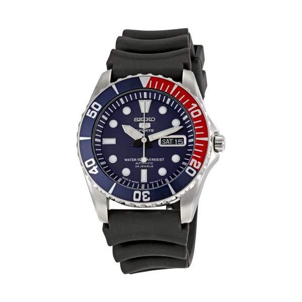 セイコー 腕時計 SEIKO SNZF15J2 メンズ ウォッチ 男性用 SEIKO Men's SNZF15J2 Series 5 Rubber Strap Watch