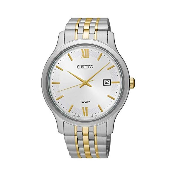 セイコー 腕時計 SEIKO SUR223 メンズ ウォッチ 男性用 SEIKO Men's Two Tone Special Value Stainless Steel Bracelet Watch SUR223