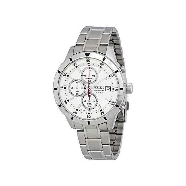 セイコー 腕時計 SEIKO SKS557P1 メンズ ウォッチ 男性用 SEIKO Chronograph Silver Dial Mens Watch SKS557