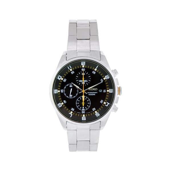 セイコー 腕時計 SEIKO SNDC89 メンズ ウォッチ 男性用 SEIKO Men's SNDC89 Stainless Steel Analog with Black Dial Watch