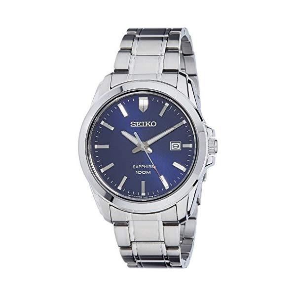 セイコー 腕時計 SEIKO SGEH47P1 ウォッチ メンズ 男性用 SEIKO Quartz Sapphire Blue Dial Stainless Steel Mens Watch SGEH47