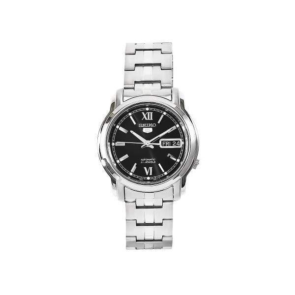 セイコー 腕時計 SEIKO SNKK81 ウォッチ メンズ 男性用 SEIKO Men's SNKK81 5 Stainless Steel Black Dial Watch