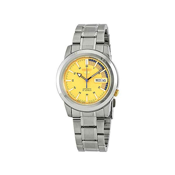 セイコー 腕時計 SEIKO SNKK29J1 ウォッチ メンズ 男性用 SEIKO 5 Automatic SNKK29J1Mens Gold Business Automatic SEIKO Japan