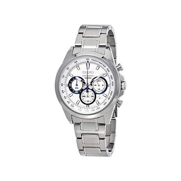 セイコー 腕時計 SEIKO SSB239P1 ウォッチ メンズ 男性用 SEIKO Neo Sports Chronograph White Dial Mens Watch SSB239