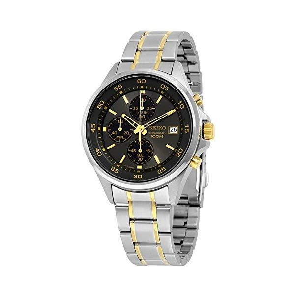 セイコー 腕時計 SEIKO SKS481 ウォッチ メンズ 男性用 SEIKO Men's SKS481 Quartz Chronograph Silver Stainless Steel Watch by SEIKO Watches