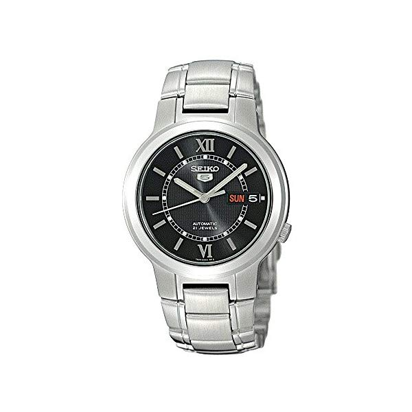 セイコー 腕時計 SEIKO SNKA23K1S ウォッチ メンズ 男性用 SEIKO Men's SNKA23K1S Stainless-Steel Analog with Black Dial Watch