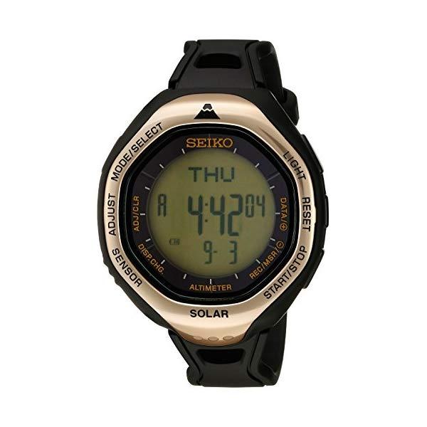 セイコー 腕時計 SEIKO SBEB009 ウォッチ プロスペックス メンズ 男性用 SEIKO Men's SBEB009 Prospex Digital Display Japanese Quartz Black Watch