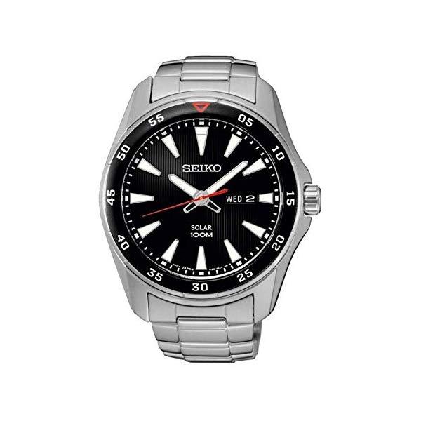 セイコー 腕時計 SEIKO SNE393 ウォッチ Watch SEIKO Solar Sne393p1 Men´s Black